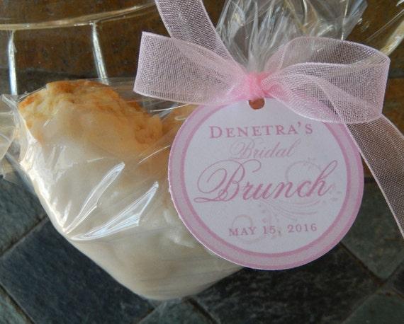 30 Bridal Brunch Custom Favor Tags For Cake Pops