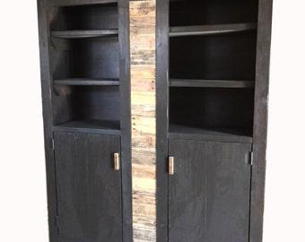 """62"""" Morgan cabinet with doors"""