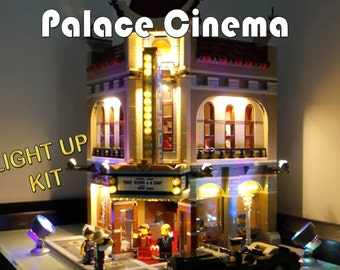 Light up kits for 10232 - Palace Cinema - (Model not included)