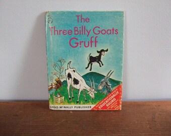 The Three Billy Goats Gruff Rand McNally Elf Book 1966
