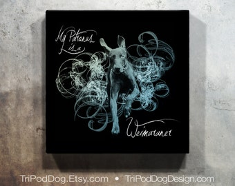 My Patronus is a Weimaraner - Digital File for Instant Download Printable