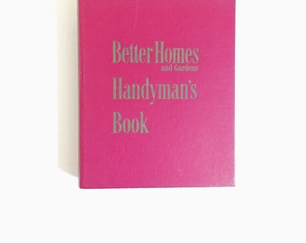 Vintage, Better Homes and Gardens, Handyman, Guide, First Edition, 1951, Housewarming Gift, Fathers Day, Mid Century