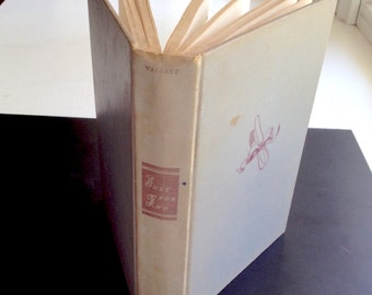 Just For Two vintage cookbook, by Lily Wallace, M. Barrows 1949, perfect for couples