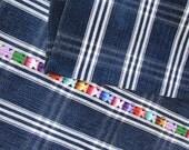 """Guatemalan Hand Woven Textile With """"Cantaros"""""""