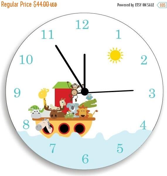 On Sale 20 Off Children Bedroom Wall Clock By Kidodesignstudio