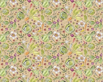 Garden Girl - Goodness in Craft by Cori Dantini for Blend Fabrics