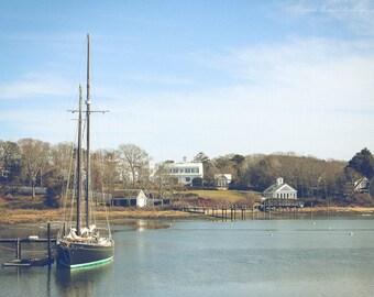 CAPE COD Photography WYCHMERE Harbor Harwichport Massachusetts Atlantic Ocean New England Cottage Decor Travel Nature Landscape Coastal