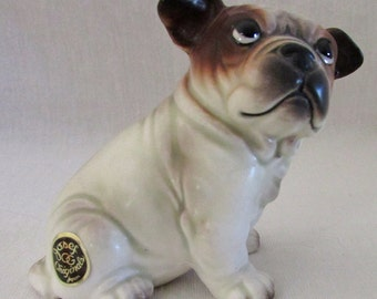 Vintage Josef Originals Bulldog Figurine