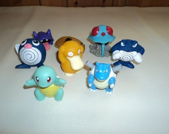 Pokemon bathtub squirter toys have fun with Squirtle, Maril, Psyduck ...