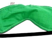Green Headache eye pillow