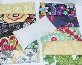 Set of 6 for 42 - Removable Washable Sleeves - Lavender Aromatherapy Eye Pillows - Aroma Therapy - Yoga Relaxation Mask