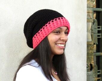 Crochet Slouchy Hat, Slouchy, Adult, Women, Teen, Ready To Ship