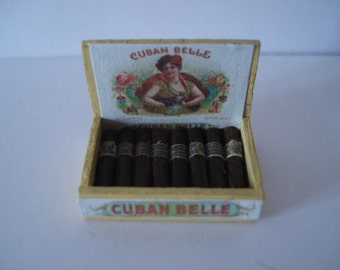 Miniature box of cigars