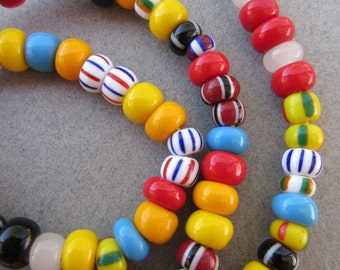 Mixed African Padre Beads