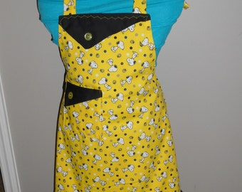 Snoopy and Woodstock Girl's Apron