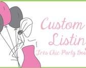 Custom TOJ for etsyBugda