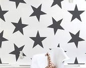 Nursery wall decal - Confetti stars - Pattern Decal. Geometric Pattern Decals. Star Pattern decal. Star Decals. Livingroom Decals. Pattern