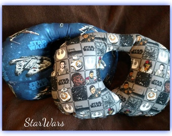 """Travel Pillow - Car Seat Neck Support - Infant to Adult Sizes - """"StarWars"""""""
