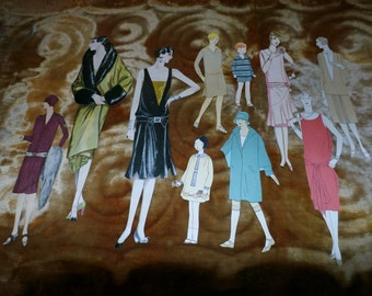 Lot of 31 Neat Fashion Pictures Cut from 1920s Magazines, Great for Crafts