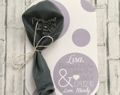 Pregnancy Announcement Balloon with Card and Envelope