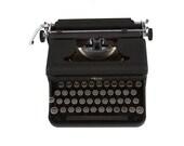 Royal  Typewriter - Working - Vintage -1940's - Manual - Portable - Glass Keys - FREE Domestic Shipping
