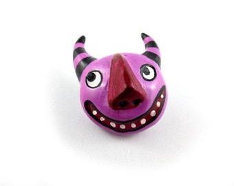 Happy Imp - Wearable Art Pin