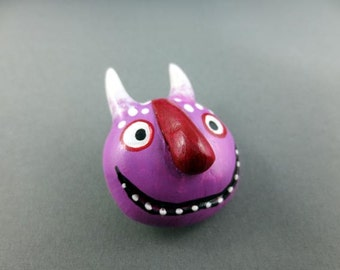 Wild Thing Imp - Wearable Art Pin