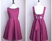 Custom Listing for Shana's Bridesmaids - Bow Back Dress
