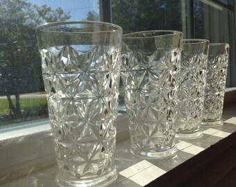 Vintage Midcentury Juice Glasses