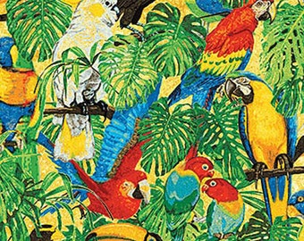 Rainforest Romp Birds Multi