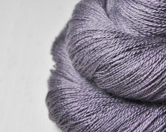 Withered lupin - BabyAlpaca/Silk Lace Yarn