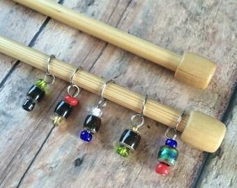 Nymphadora Tonks Mood Ring Heat Change Stitch Markers - Set of 6
