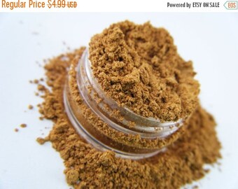 50% OFF SALE FCC Treasure 26 Golden Yellow Eye Shadow All Natural Loose Pigment Mineral EyeShadow Eyeliner Makeupp