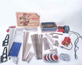 Erector Building Set A.C. Gilbert Co. Vintage 30s