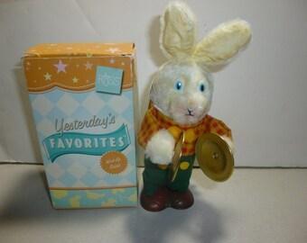 Vintage Russ Wind Up Rabbit Toy, 1970s