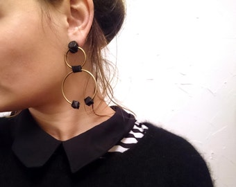 Earrings- Abstract Earrings, Contemporary Jewelry
