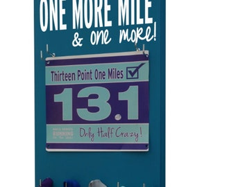 Marathon mom this is for you…One more mile and one more…'till 26.6 or 13.1 is reach. Inspirational running medal and race bib awards
