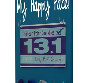 Running bib holder: My happy pace