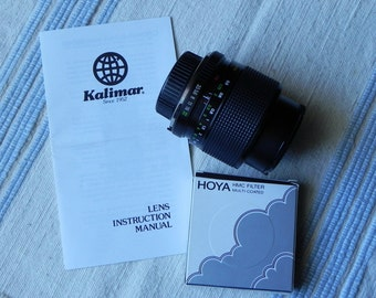 Kalimar 35-70mm F3.5-4.8 Auto Zoom Macro Lens With Skylight Filter