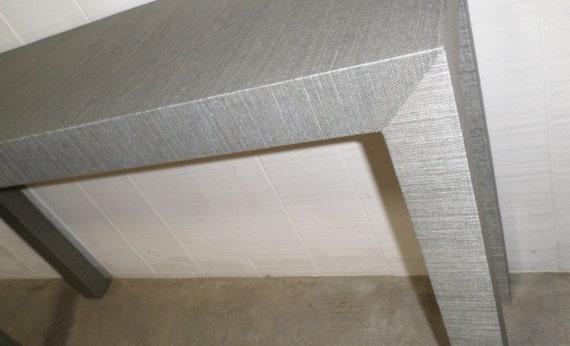 Grasscloth Table - Custom Built - Design Your OWN
