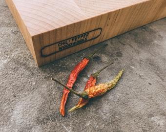 Handmade End Grain Maple Butcher Block & Cutting Board