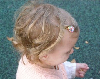 Hair Pin / Bobby Pin / Paper Accessories / Spiral Jewelery / Accessories For Kids / Hair Pin Girls / Recycled Paper / Unique Hair Pin