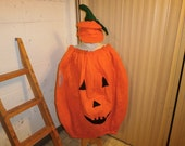 Halloween, Adult, Pumpkin Costume, with hat, size 1x-3x