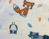 Sale - Forest Foxes - FLANNEL - BTY