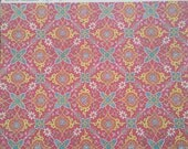 "Graphic 45 Bohemian Bazaar ""Jasmine Nights"" 12 x 12 scrapbook paper.   Single sheet,  double sided."