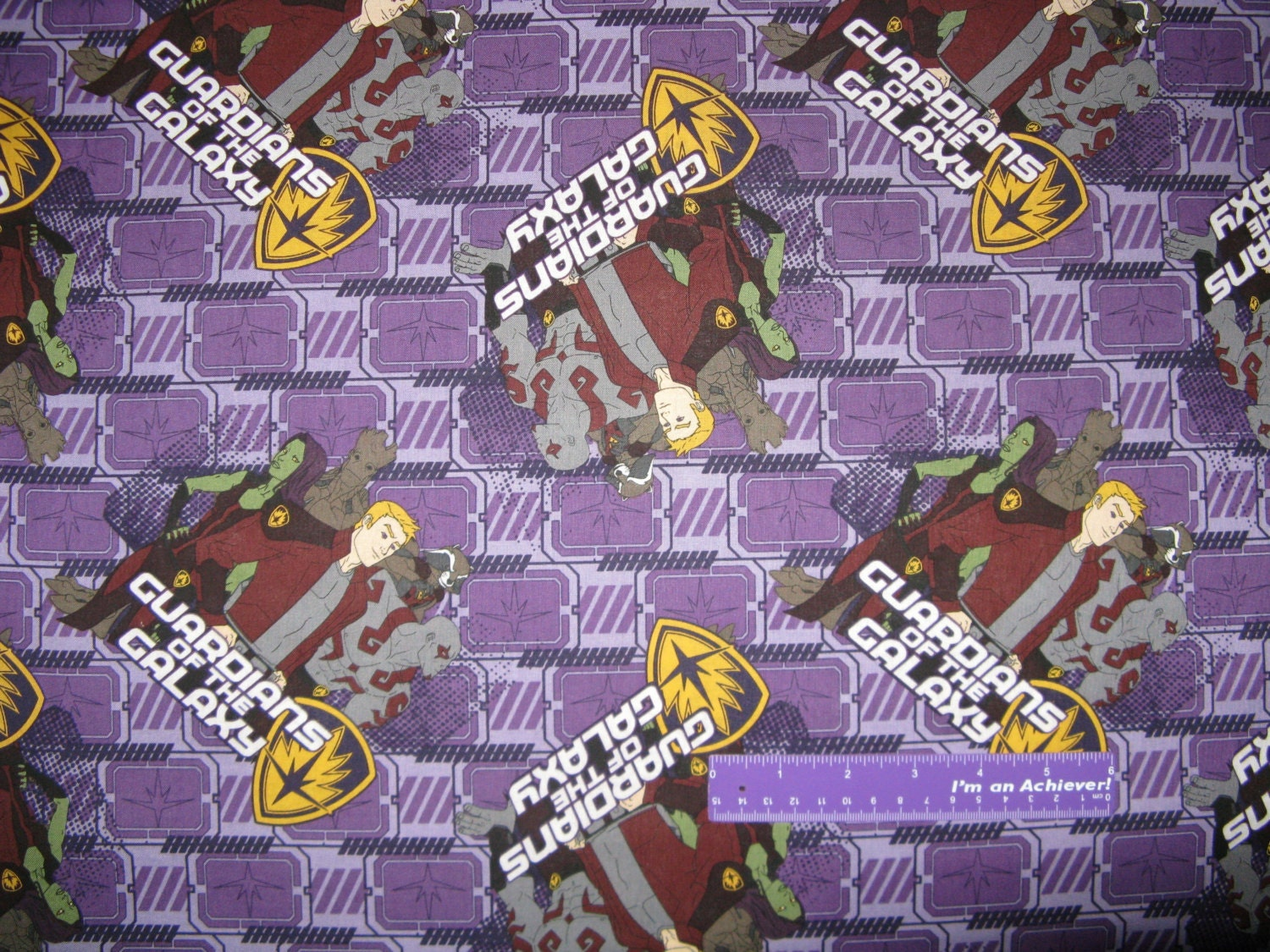 Marvel guardians of the galaxy toss gamora rocket cotton for Galaxy fabric canada