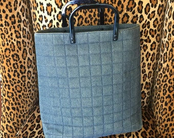 Vintage Denim Chanel Handbag
