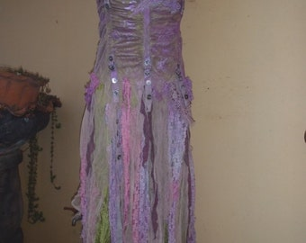 "20%OFF bohemian gypsy wedding bridesmaid boho mermaid dress  ,,small to 36"" bust..."