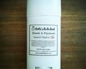 Hinoki & Patchouli Natural Deodorant - Deodorizing Essential Oil Blend, Extra Strength, Aluminum Free