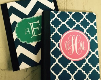 Personalized iPad Folio Case // Monogram iPad Cover // Custom Cover // Tablet Stand